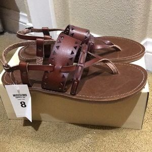 Mossimo Supply Co.  Sonora Sandals size 8